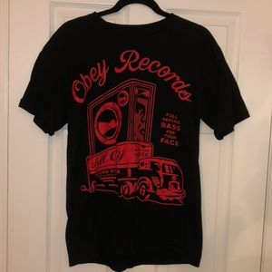 Obey Men's Medium Black T-Shirt